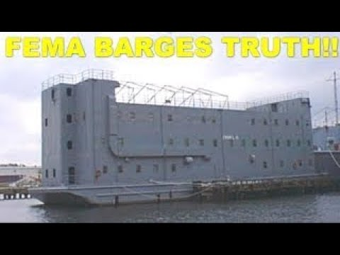 What FEMA DOESN'T Want You To Know About FEMA BARGES!