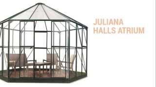 Juliana Halls Atrium havepavillon | BygXtra Online Byggemarked