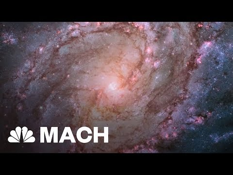 A Distant Galaxy With Almost No Dark Matter Could Prove Dark Matter Exists | Mach | NBC News