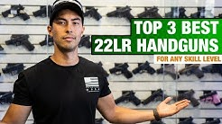 Top 3 BEST 22 LR Handguns