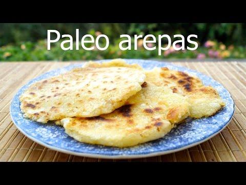 Paleo yucca arepas