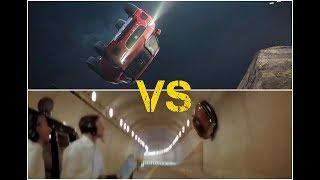 Jaguar E pace VS Mercedes Benz SLS Gravity Challenge Flip Test