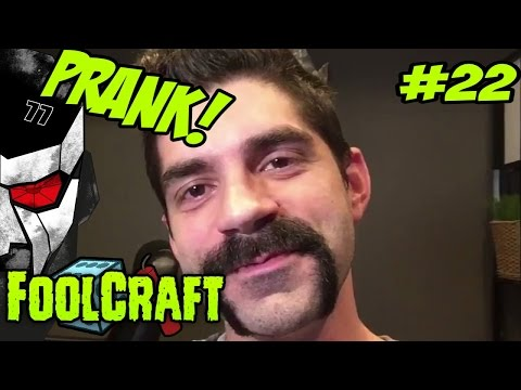 FOOLCRAFT #22 - HAUNTED HOUSE PRANK! SORRY BDUBS :-) [Modded Minecraft 1.10]
