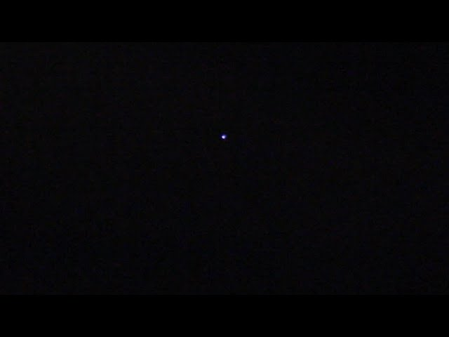 UFO Spotted During Leonids