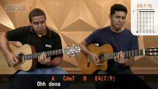 Dona - Roupa Nova (aula de violão completa)