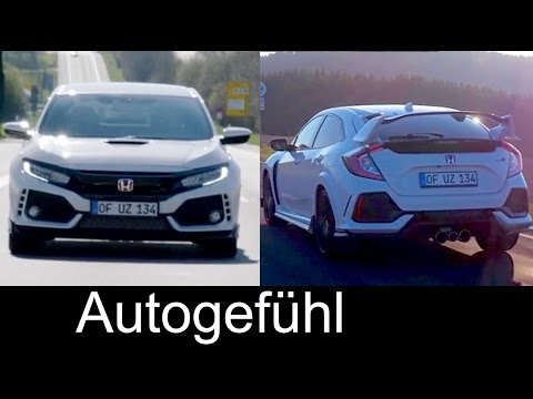 All-new Honda Civic Type R record lap Nürburgring Nordschleife feature