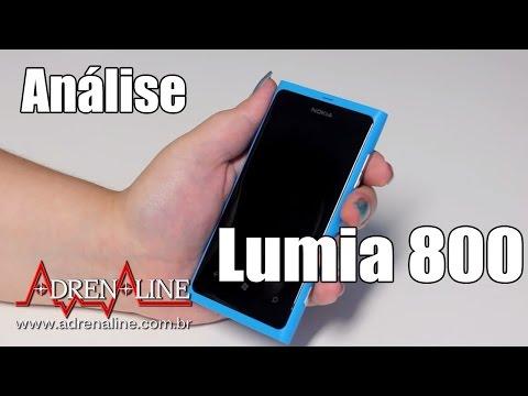 Análise em vídeo do Nokia Lumia 800