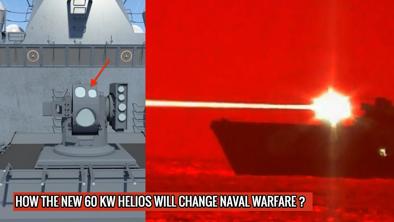 LOCKHEED MARTIN HAS DELIVERED 'HELIOS' TO THE U.S NAVY - HAS TWICE THE POWER OF PREVIOUS VARIANT !