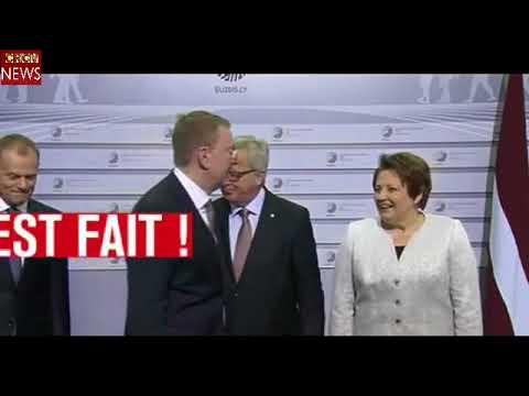 CRCV News Juncker, Drunk During The European Summit In Riga   Juncker Borracho En La Cumbre Europea