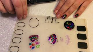 😍REVERSE STAMPING DECALS 😻 Decal tutorial for short nails