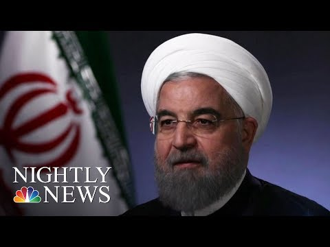 Rouhani: 'No One Will Trust America' If Donald Trump Leaves Iran Deal | NBC Nightly News