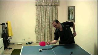 Table Tennis - Inverted Rubber Return Of Serve - Greg's Plan