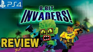 8-BIT INVADERS Review - PS4