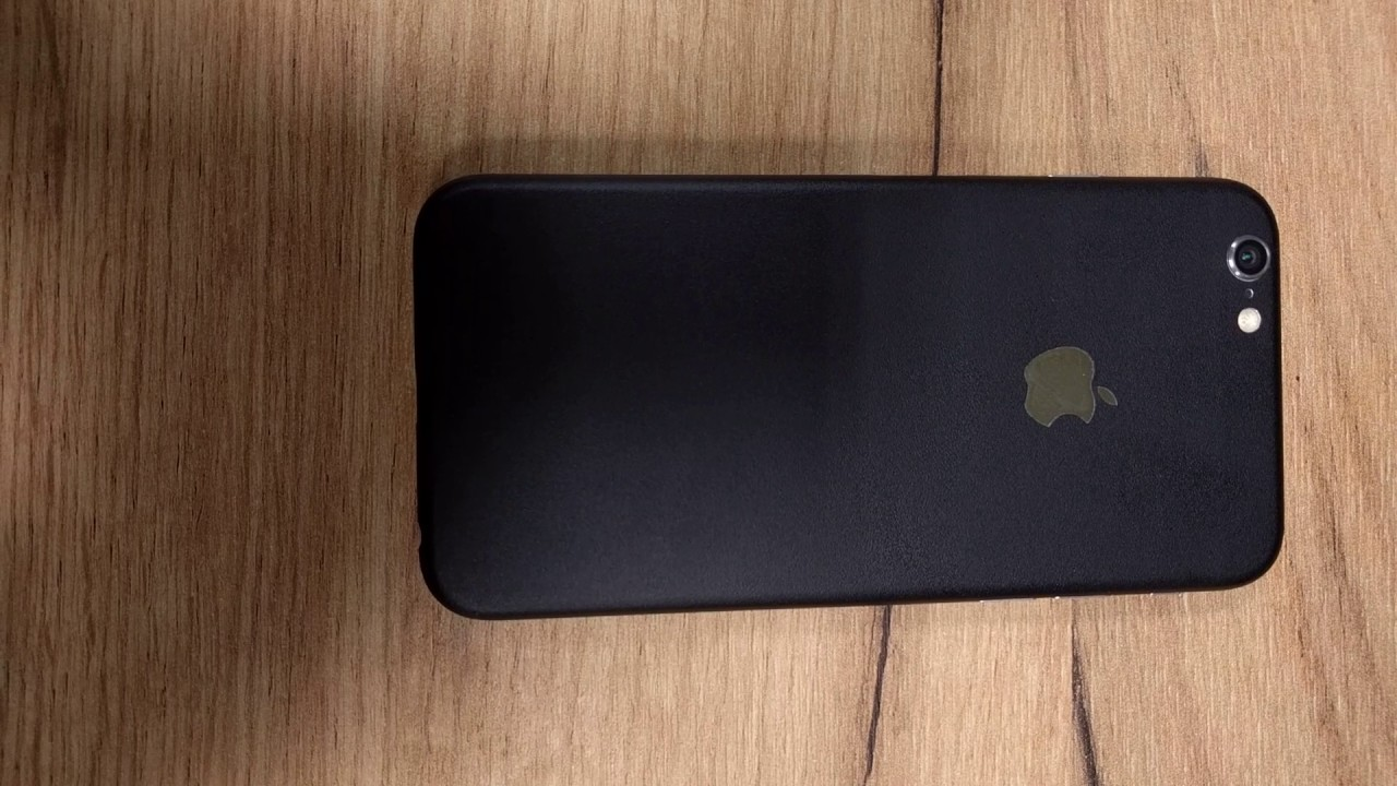 sports shoes 61a69 5b255 Make your iPhone 6 look like iPhone 7 - (Dbrand matte black for silver  iPhone 6 review)