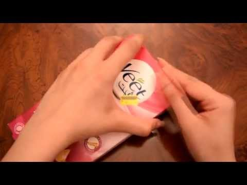 how to use the veet wax strips
