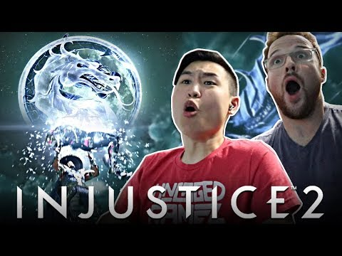 Injustice 2 - Raiden & Black Lightning Reveal Trailer!! [REACTION]