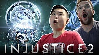 Injustice 2 - Raiden & Black Lightning Reveal Trailer!! [REACTION]