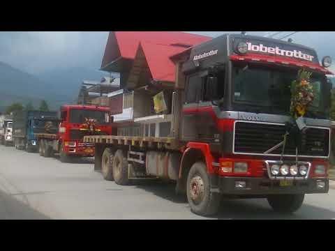 Camioneros Oxapampinos, despedida del buen amigo, Kevin Venegas Fernandez