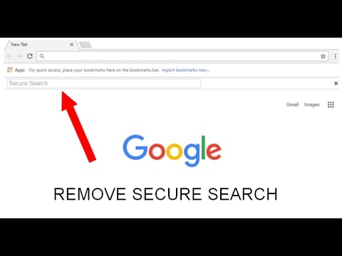 How to remove Secure Search toolbar and redirections on Chrome (like banggood.com, bing...)