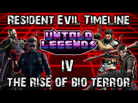Resident Evil Timeline: Part 4 (The Rise of Bio Terror) - Un