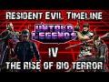 Resident Evil Timeline: Part 4 (The Rise of Bio Terror) - Untold Legends