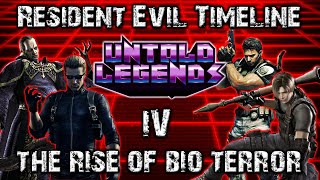 Resident Evil Timeline: Part 4 (The Rise of Bio Terror) - Untold Legends
