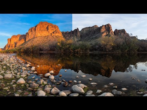 How To Mimic A Circular Polarizer In Photoshop And Lightroom
