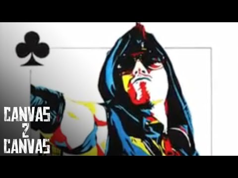 The Miz came to play on the canvas! - Canvas 2 Canvas