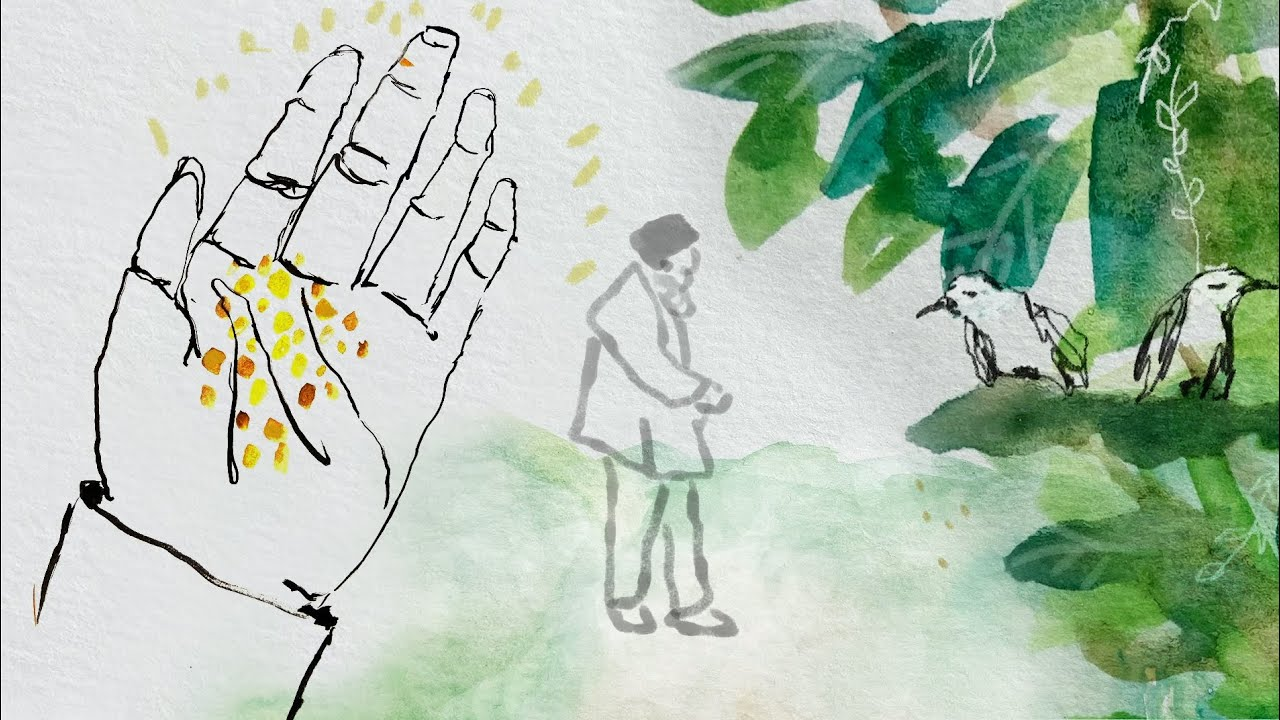 The Parable of the Sower and the Seed — As told by Mooji ~ Illustrated by Mukti