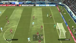 PES 2015 (PC) - Lazio x AC Milan - Gameplay