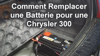 Chrysler 300 Battery Replacement (French Version) - The Battery Shop