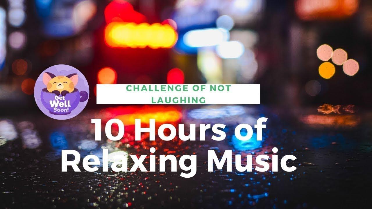 Relaxing Music & Soft Rain - Sleep Music, Fall Asleep, Soft Piano Music, Live Stream