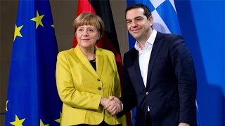 Angela Merkel Gives Alexis Tsipras Warm Welcome, but No Bailout in Berlin