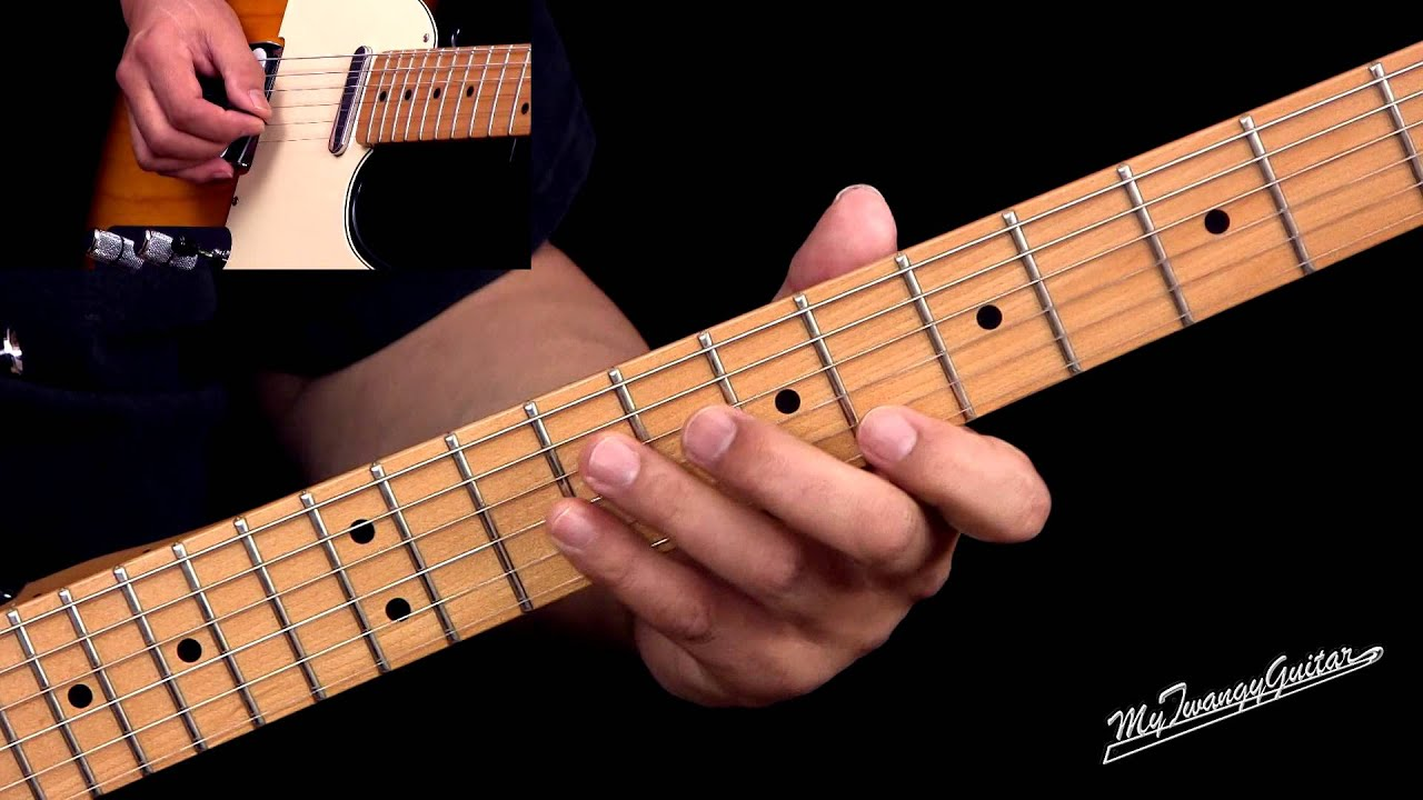 Western Swing Style Lead Guitar Lesson Youtube