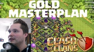 [facecam] GOLD MASTERPLAN || CLASH OF CLANS || Let's Play COC [Deutsch/German HD]