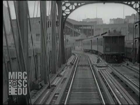 The Ninth Avenue Elevated: New York, 1929