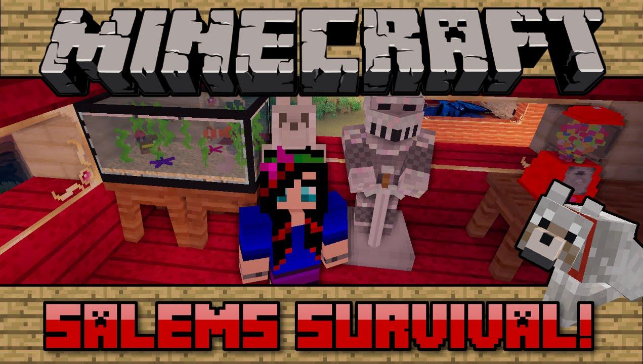 Squishy survival 9 -  95 Salems Survival Minecraft Pc