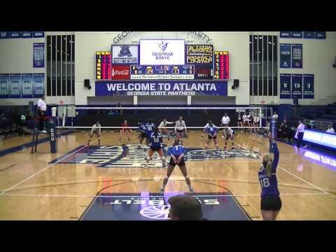 2015-16 Volleyball - 10-30-15 Georgia State vs South Alabama