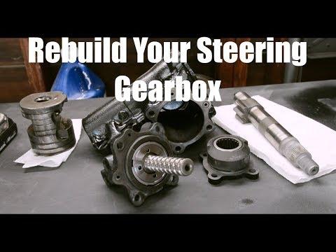 Steering Gearbox Rebuild- Toyota