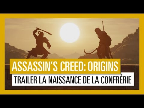 "Vidéo Assassin's Creed Origins : Trailer de gameplay "" La Naissance de la Confrérie""  [OFFICIEL] VF HD"