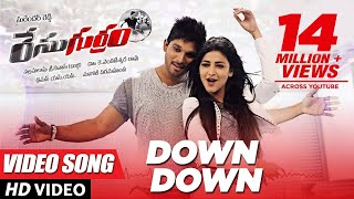 Down Down || Race Gurram Video Songs || Official [HD] ||