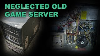 Dead Game Server - Time For A Well Overdue Dust & Clean (Fault Investigation, Bad Capacitors)