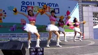 2011年3月12號TOYOTA交通安全嘉年華小天使啦啦隊 (下午).AVI