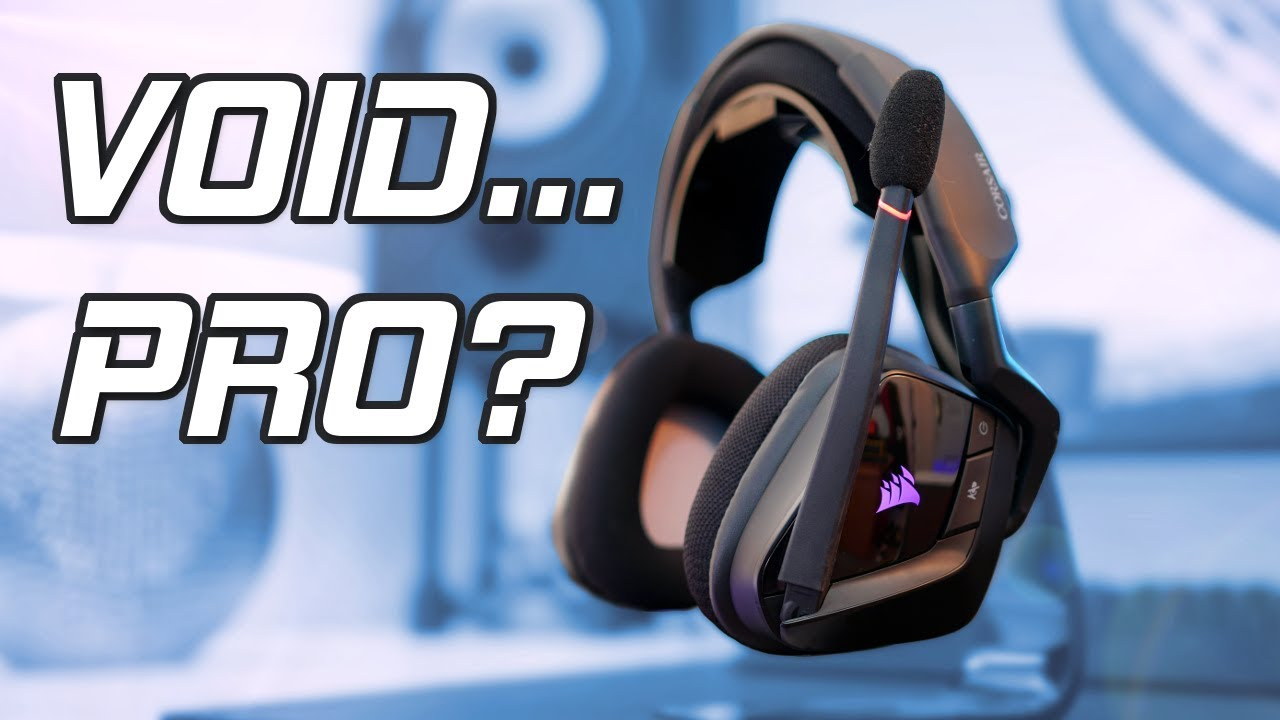 Corsair Void Pro RGB Review - The Ultimate Wireless Gaming Headset?