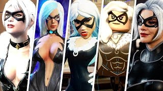 Black Cat Evolution in Spider-Man Games