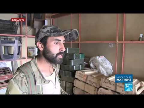 Syria; On The Ground With Pro Government Forces In Deir Al-Zor