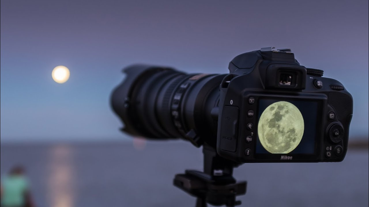 Moon Photography for beginners #shorts