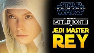REY JEDI MASTER! Nowa Gra Star Wars z Nowej Sagi! Star Wars Battlefront 2 PL