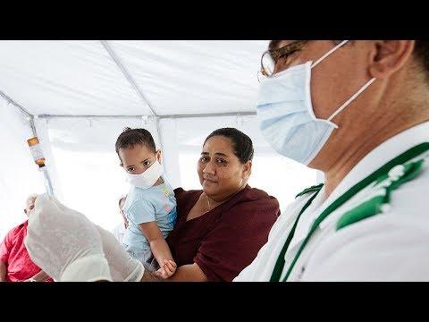 The measles epidemic shutting down the tiny island of Samoa