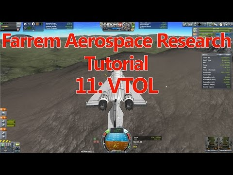 Ferram Aerospace Research Tutorial E11 VTOL
